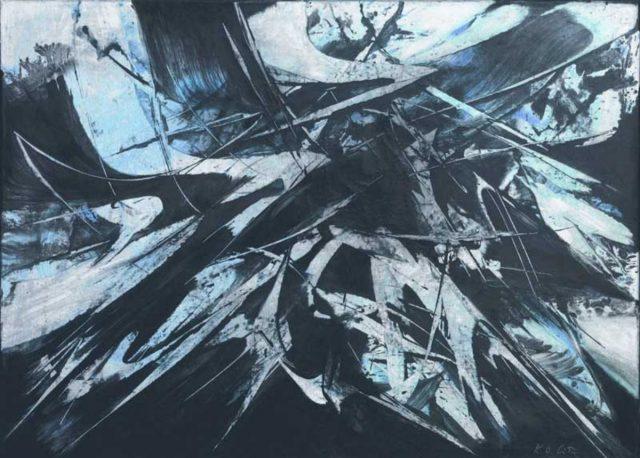 Karl Otto Götz: Untitled (02/19/1955)