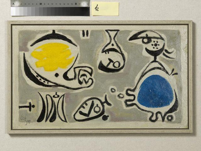 Karl Otto Götz: 24 Variationen mit einer Faktur [24 variations and an invoice] (1949)