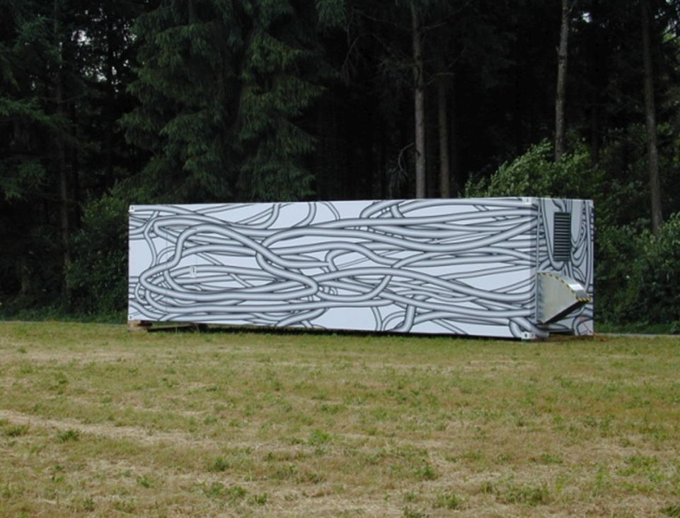 rheinflügel Baukunst: Kunsthaus Zug mobil (2014). Photos: Christian Heuchel.
