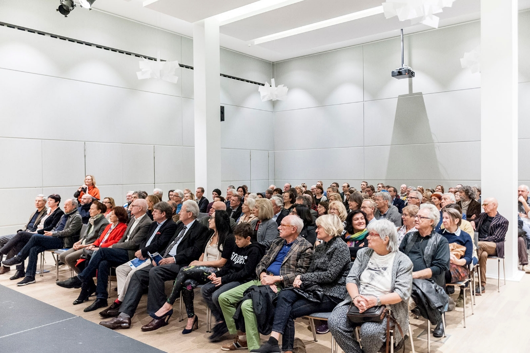 Opening ART INSPIRATION SCIENCE (2018). Photo: Karsten Enderlein.